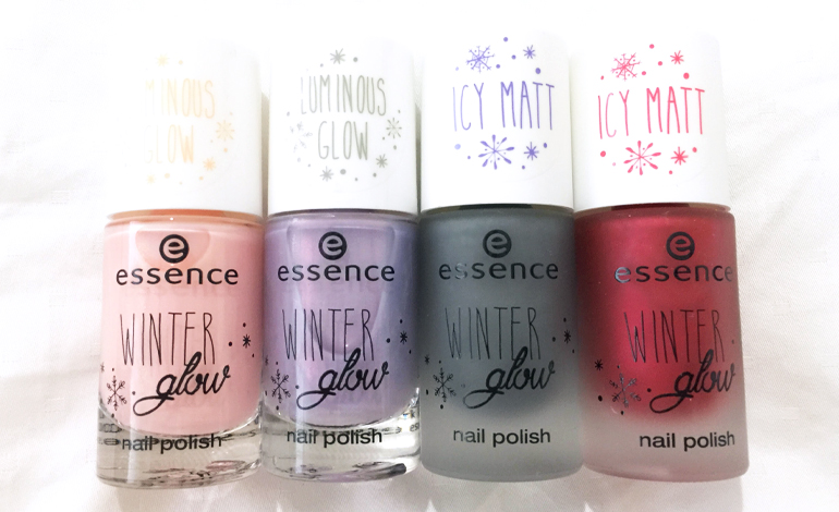Essence winter glow swatches